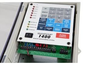 sensaphone 1400 monitoring system close up