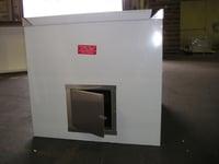 enclosure with custom door