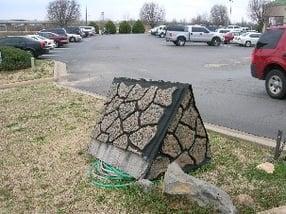 cobblestone backflow enclosure fail