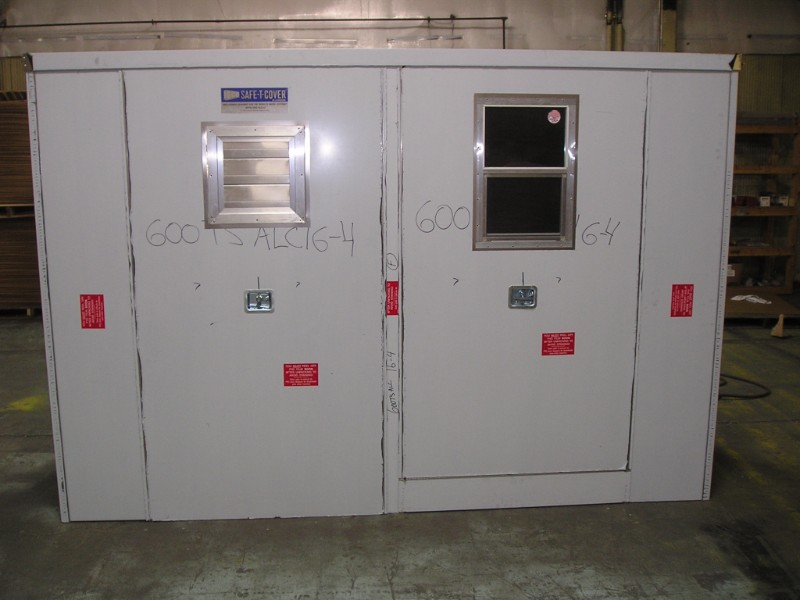 custom enclosure for quench system