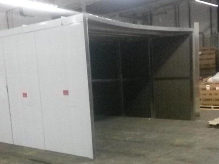 custom enclosure for fire water storage tank