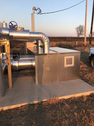Picture of an Irrigation Pump Cover