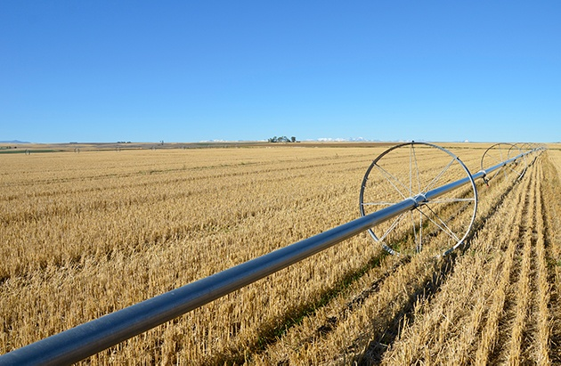 irrigation system in montana
