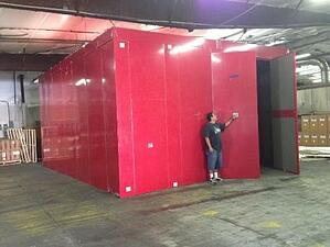 large enclosures