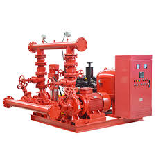 packaged fire pump